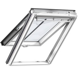 Velux Conservation Roof Window White Painted Top Hung