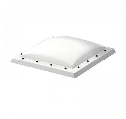 Velux Flat Roof Obscure Polycarbonate Dome System