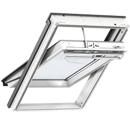 Velux Integra Solar Powered Roof Window White Polyurethane