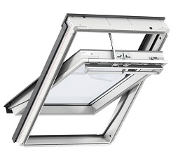 Velux Integra Solar Powered Roof Window White Pianted