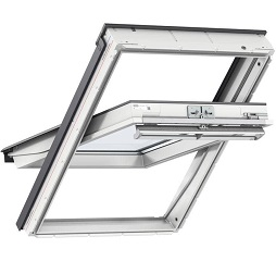 Velux Centre Pivot Roof Windows White Polyurethane