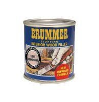 Brummer Interior Wood Filler 250g - Light Mahogany