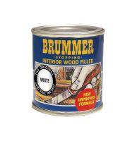 Brummer Interior Wood Filler 250g - White