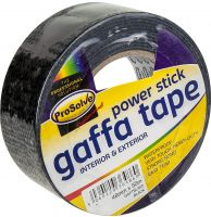 ProSolve Gaffa Tape Black 50 x 50mm