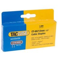 TACWISE CT-60/12mm Cable Staples (1000)