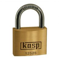 Kasp 125 Series Premium Brass Padlock 25mm Keyed Alike To Suite 25251