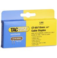 TACWISE CT-60/10mm Cable Staples (1000)