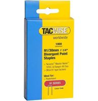 TACWISE 91/30mm Staples (1000)