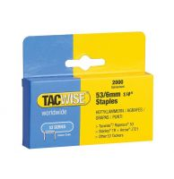 TACWISE  53/6 STAPLES   6MM  (2000)