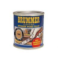 Brummer Interior Wood Filler 250g - Teak
